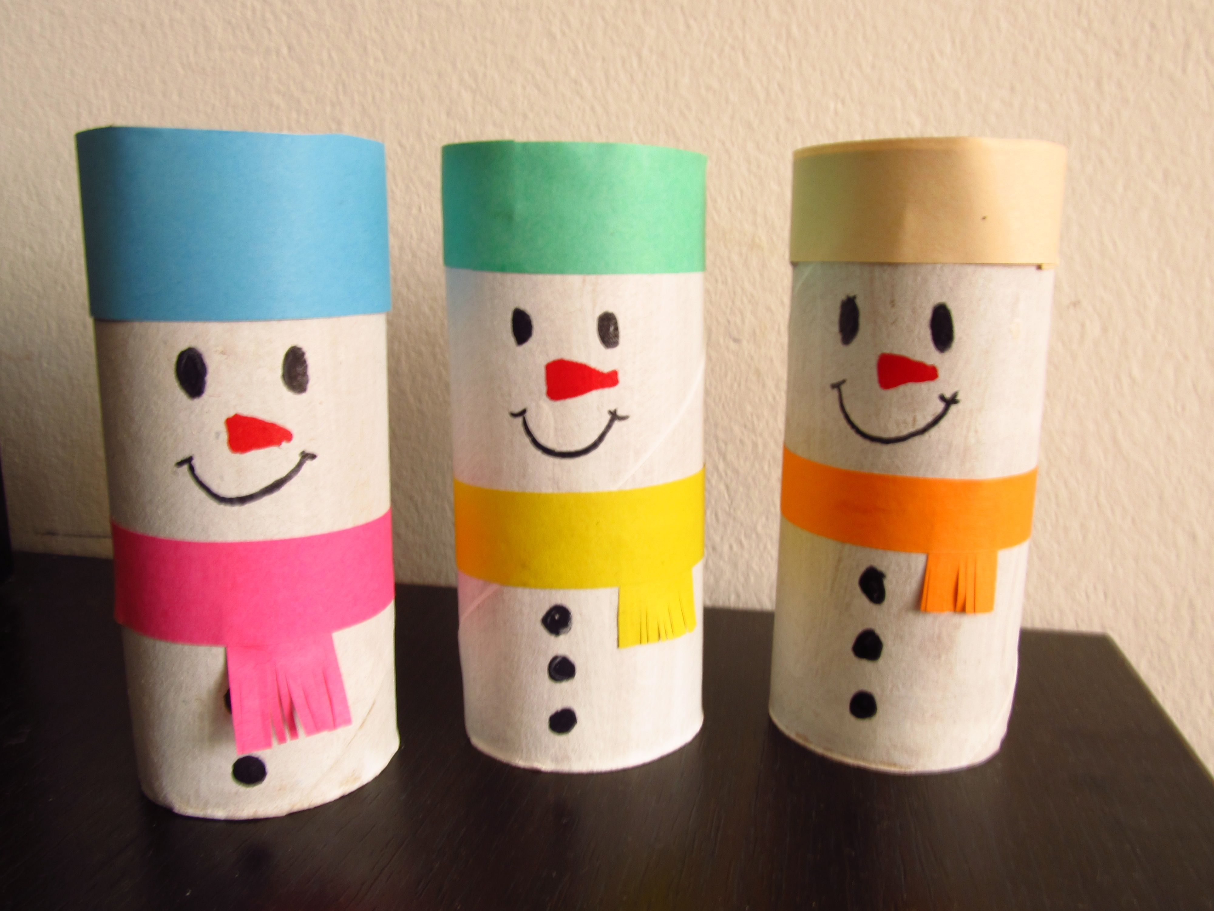 Toilet Paper Recycle Craft, Really Simple