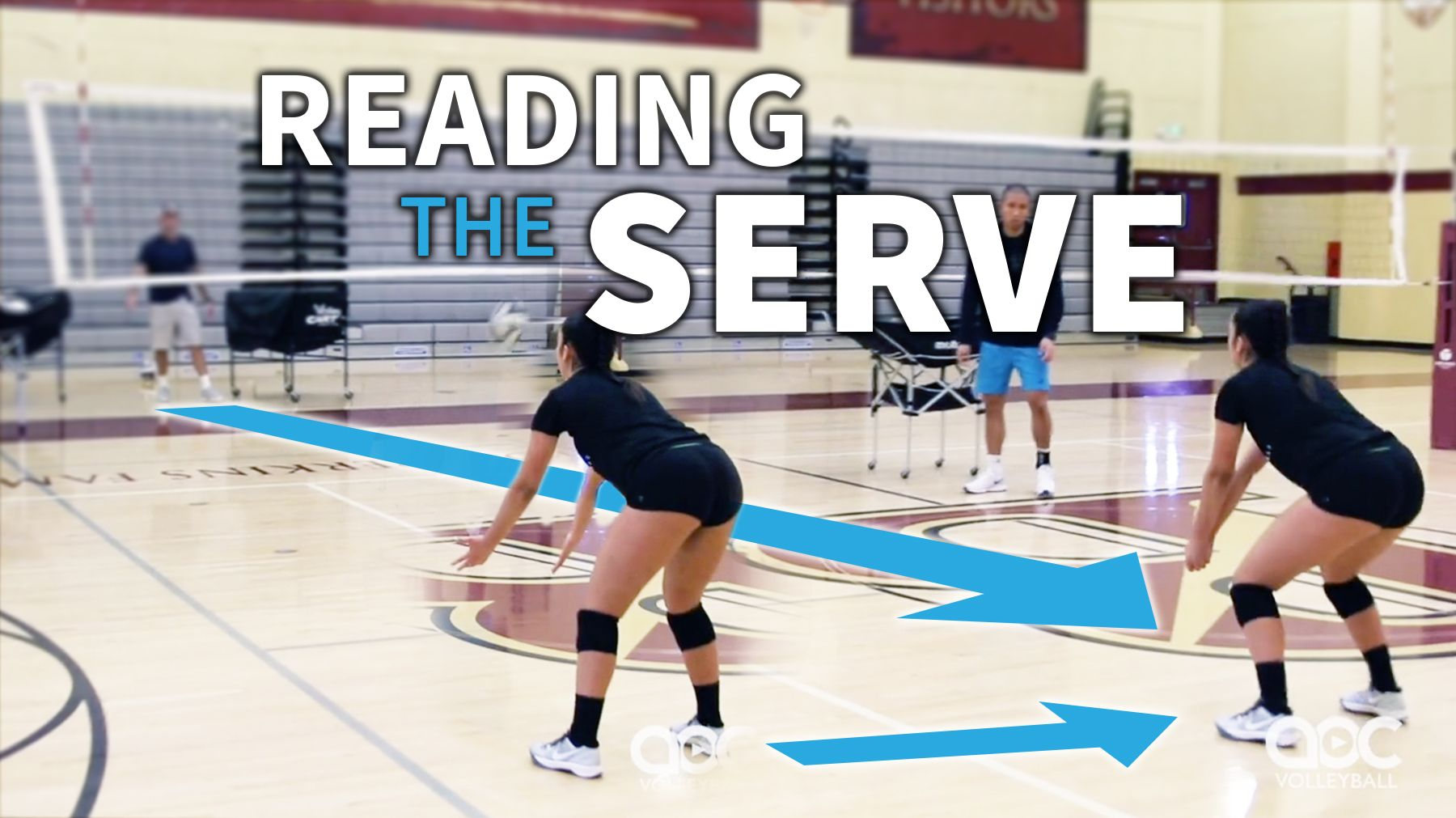 Is Your Passer Reading The Serve Soon Enough The Art Of Coaching Volleyball Coaching Volleyball Volleyball Workouts Youth Volleyball