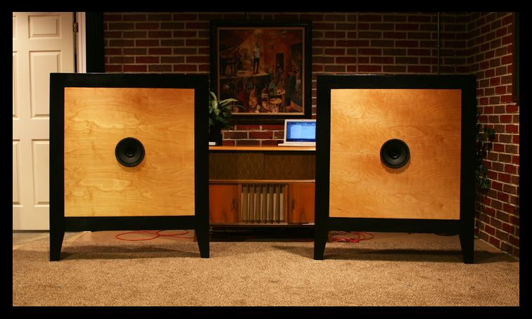 Info Dimensions Open Baffle Size High End Audio