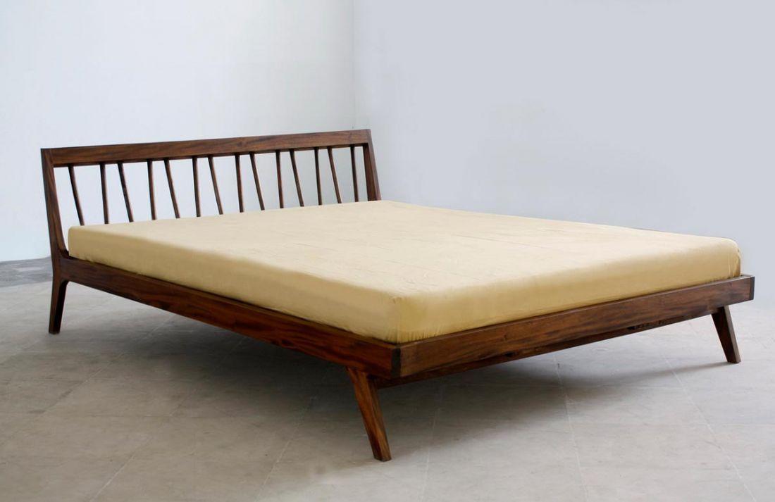 Fifties Platform Bed Modern Bed Frame Modern Platform Bed Mid