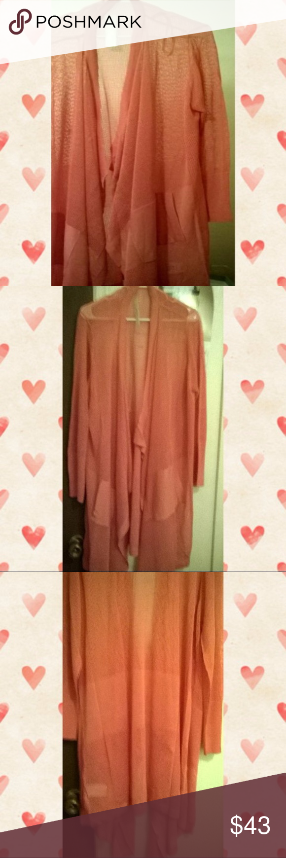 Burnt orange dress plus size  Melissa mccarthy plus size mesh cardigan size x  Melissa mccarthy