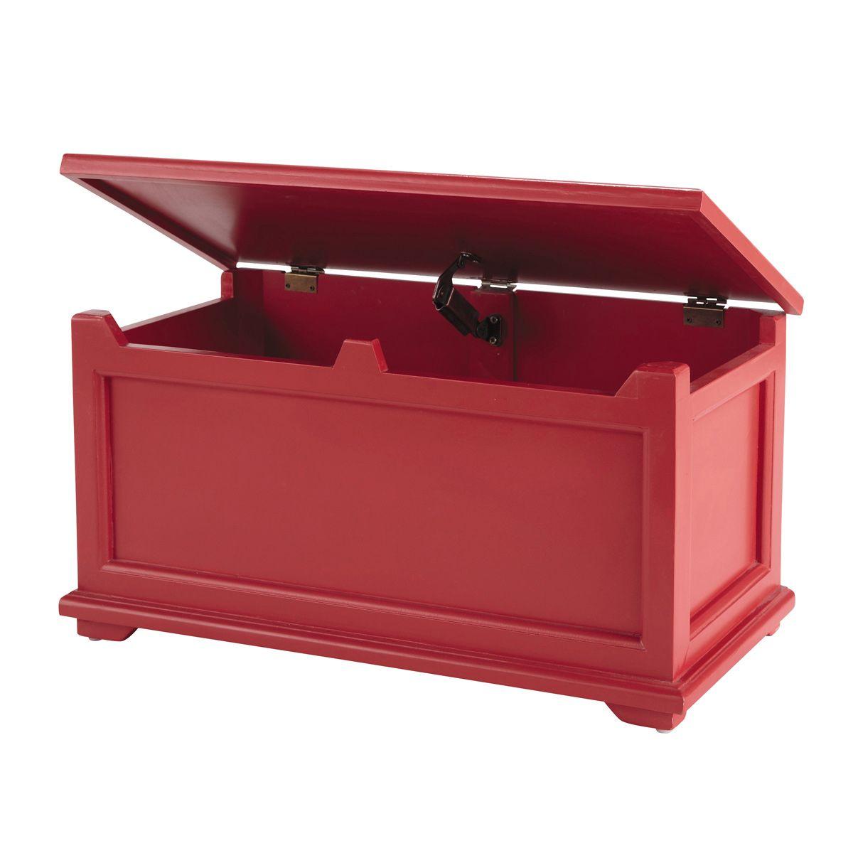 fabulous coffre enfant rouge coccinelle maisons du monde ...