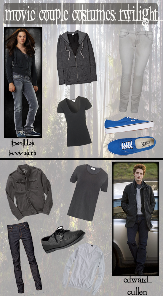 Halloween Movie Couple Costumes: Edward & Bella (Twilight)