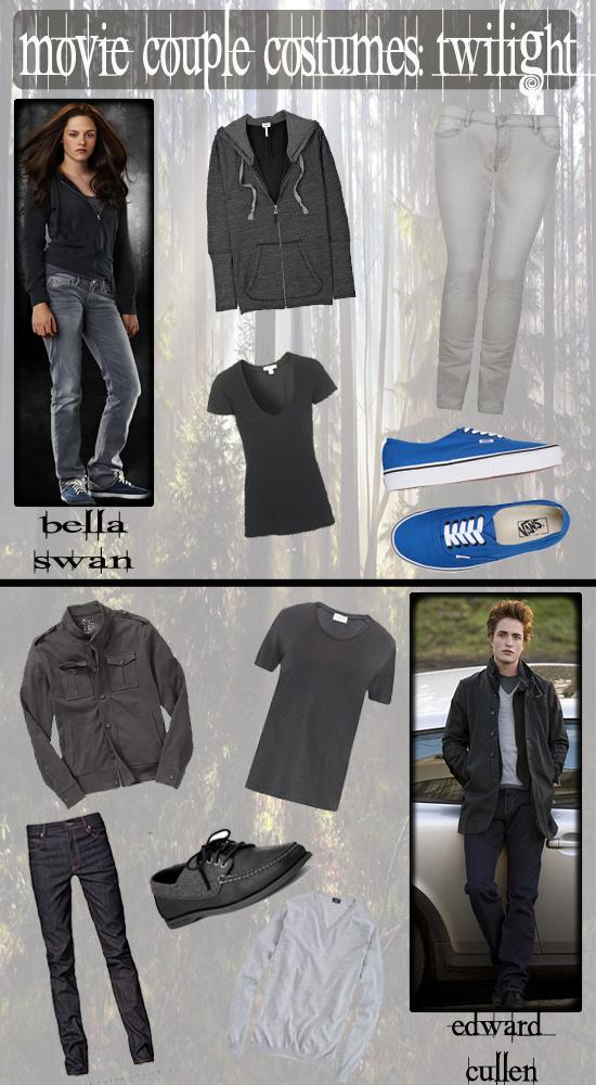 Halloween Movie Couple Costumes: Edward & Bella (Twilight)
