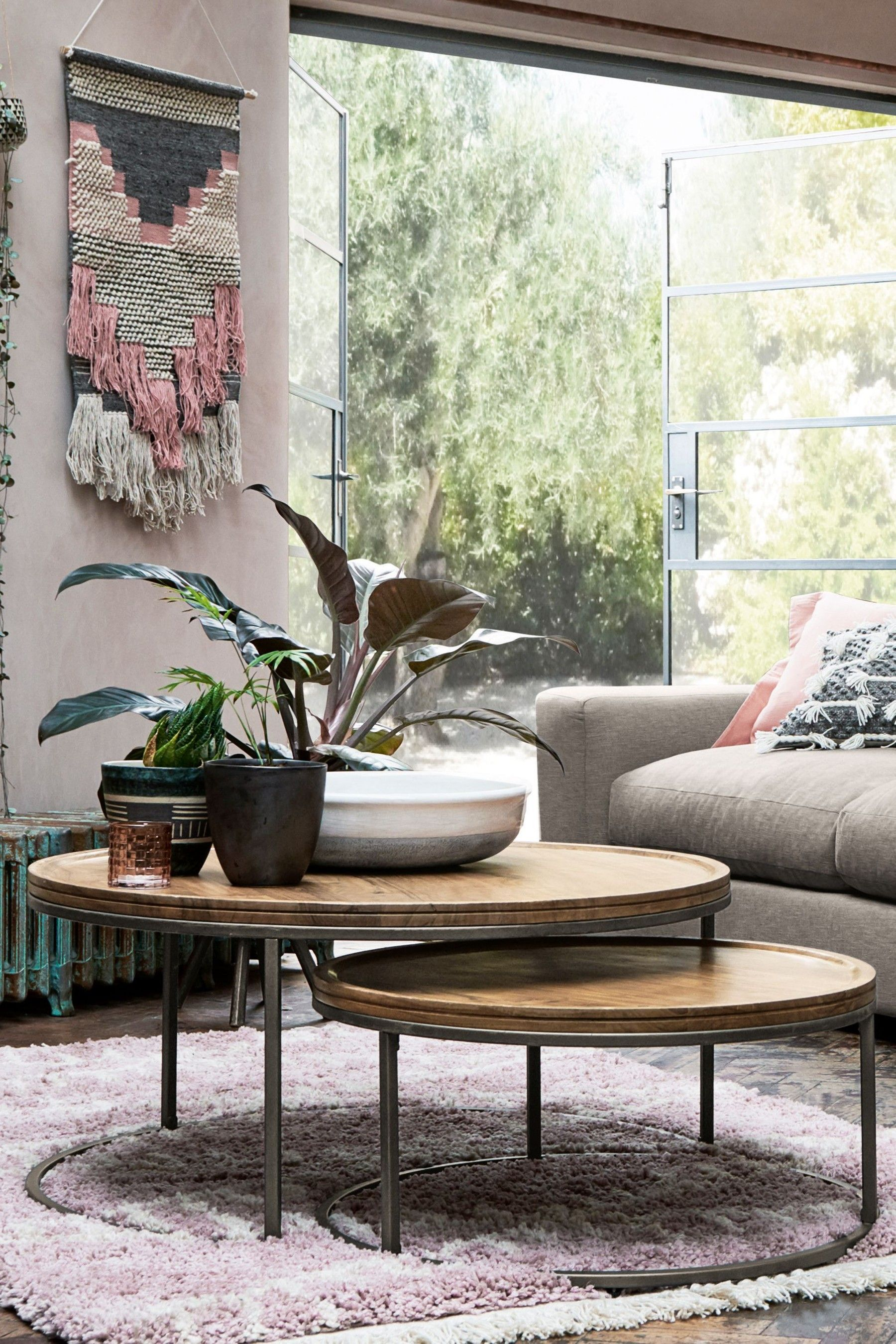 Amsterdam Nest Of 2 Coffee Tables Coffee Table Round Coffee Table Living Room Nesting Coffee Tables [ 2700 x 1800 Pixel ]