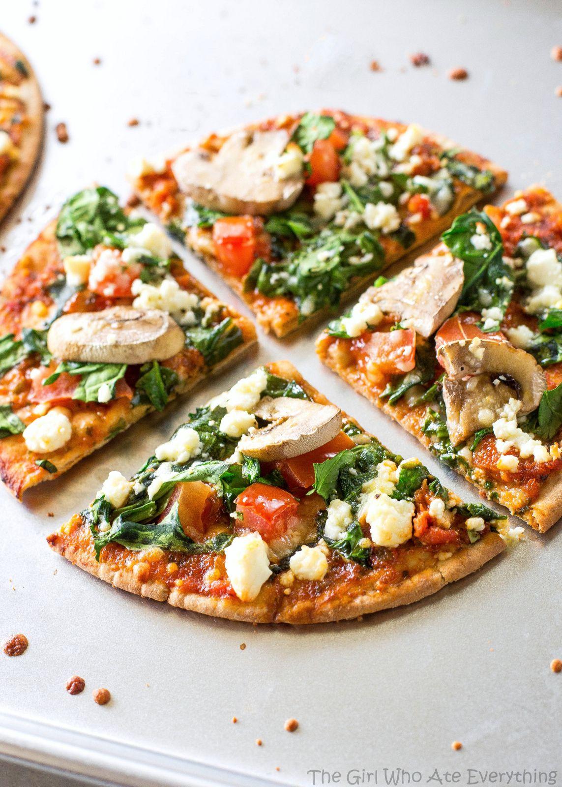 Flat Bread Recipes Ideas Flatbread Pizza