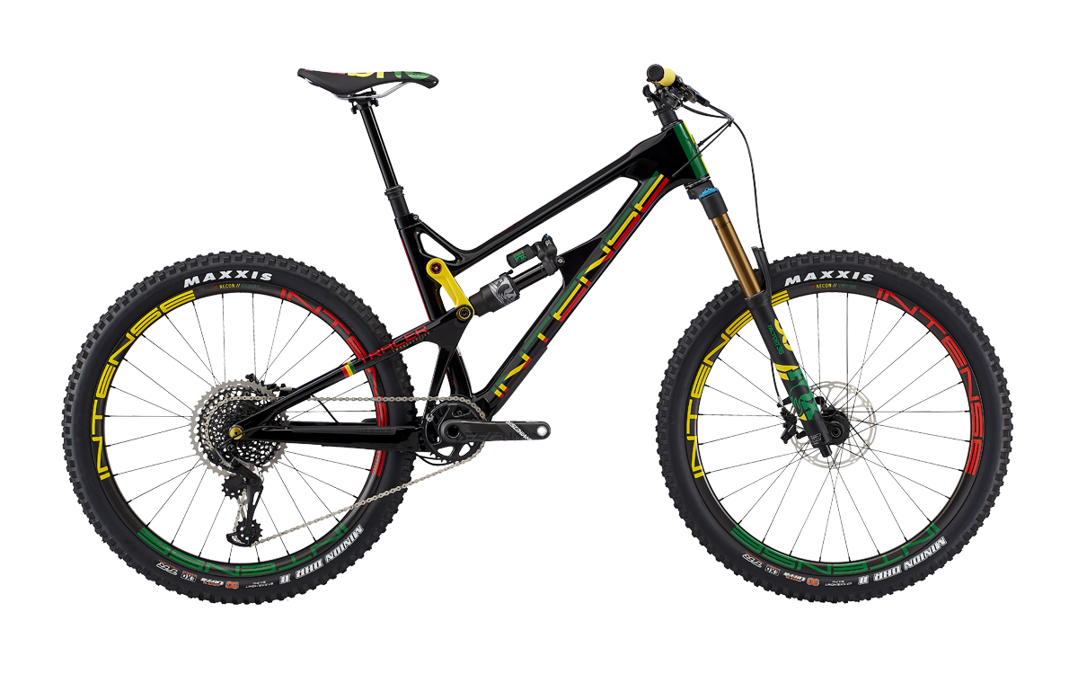 Intense Mellows Out With Limited Edition Tracer Rasta Mountain