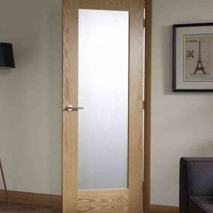 Interior Doors With Frosted Glass Inserts   Janice Home Office Door!!!