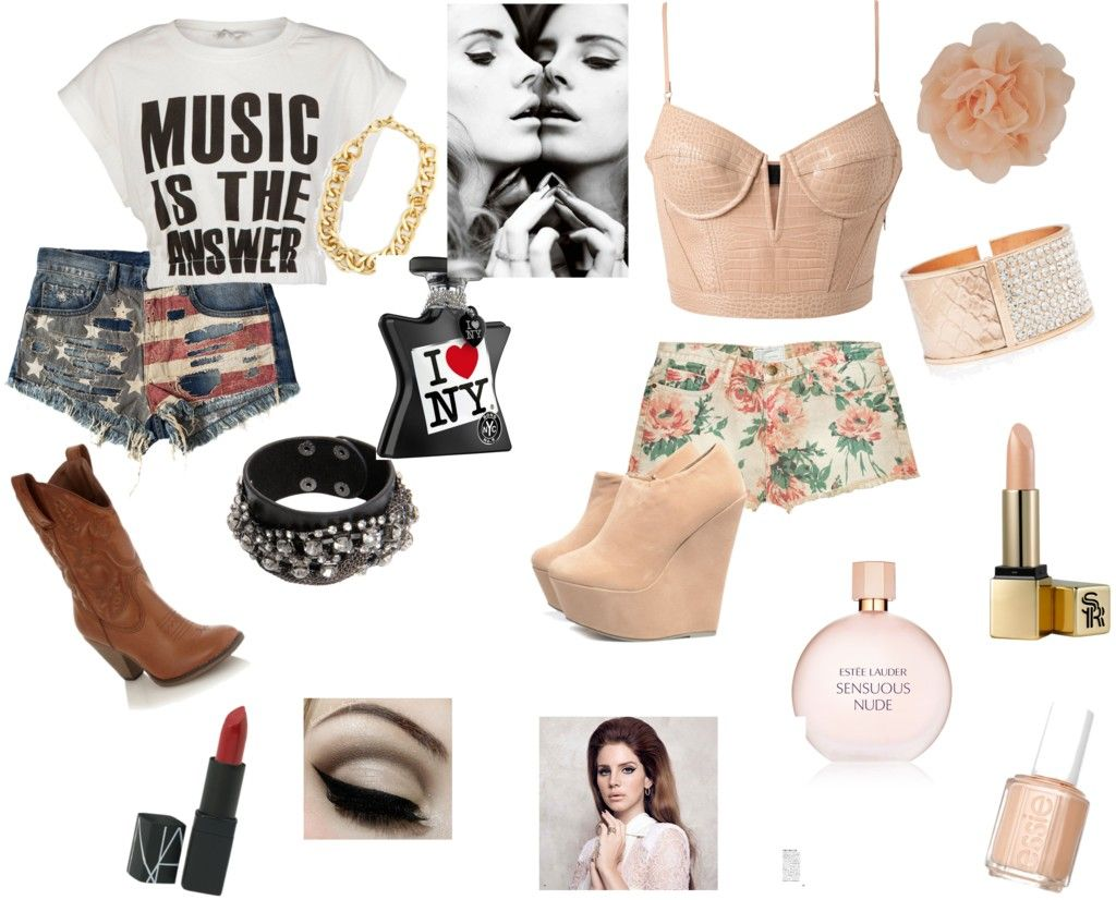 Lana del Rey by babybanshee, via Polyvore