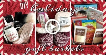 5 CHEAP holiday gift baskets! | Inexpensive Christmas gift ideas!