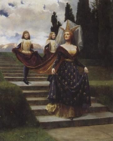 john collier, painter | title the grand lady artist john collier country of origin united ...