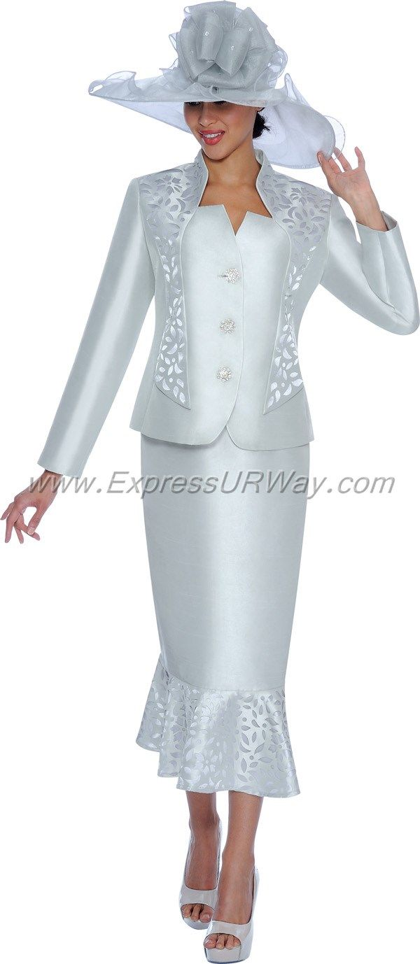 GMI G5012 Silver - Womens Church Suits | costura | Pinterest ...