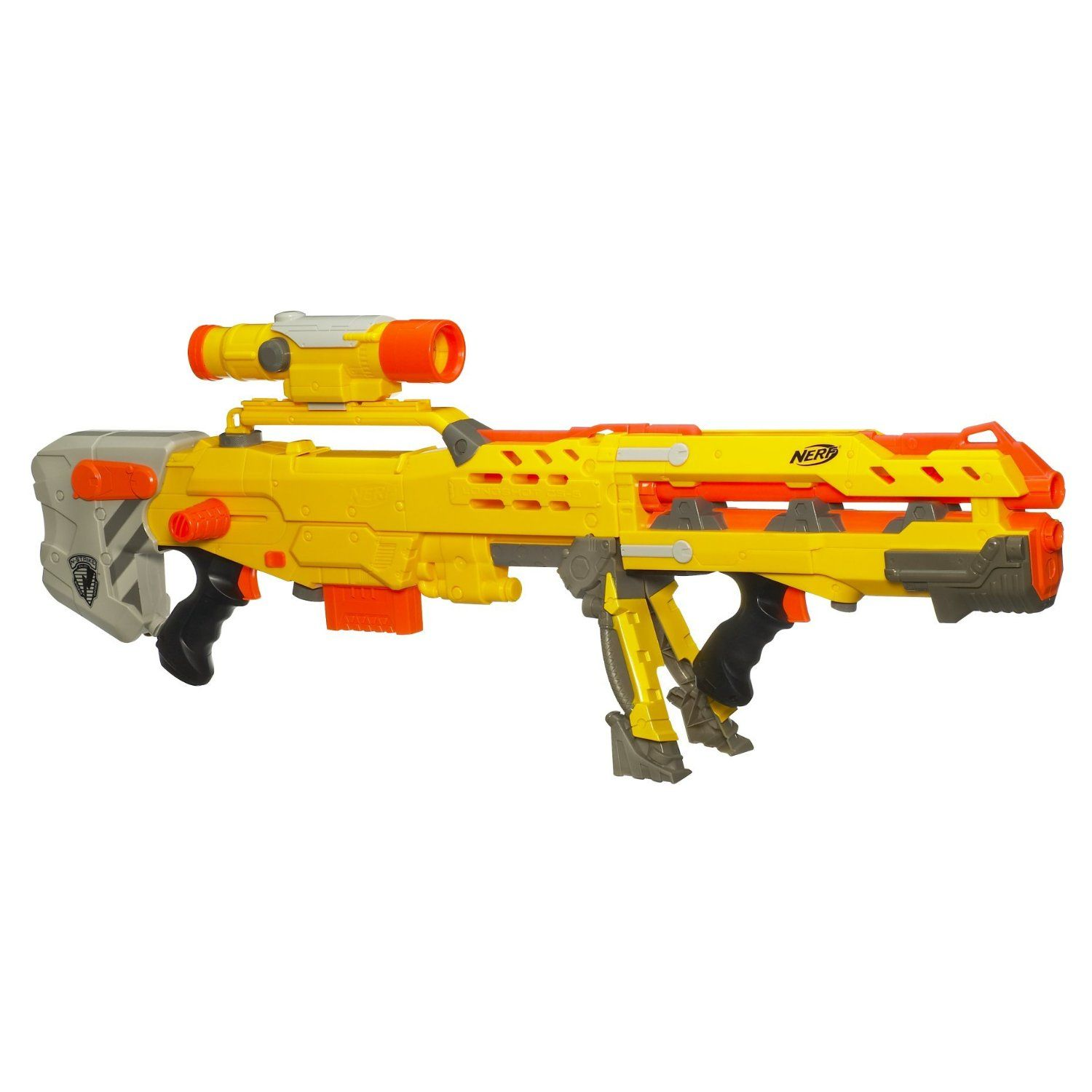 Black Friday 2014 Nerf N-Strike Longshot from Hasbro Cyber Monday. Black  Friday specials on the season most-wanted Christmas gifts.