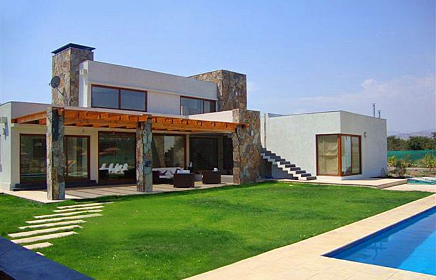 Casas estilo mediterraneo buscar con google casa for Estilo moderno interiores