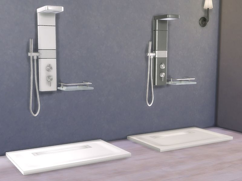Bathroom Zing Shower Found In Tsr Category Sims 4