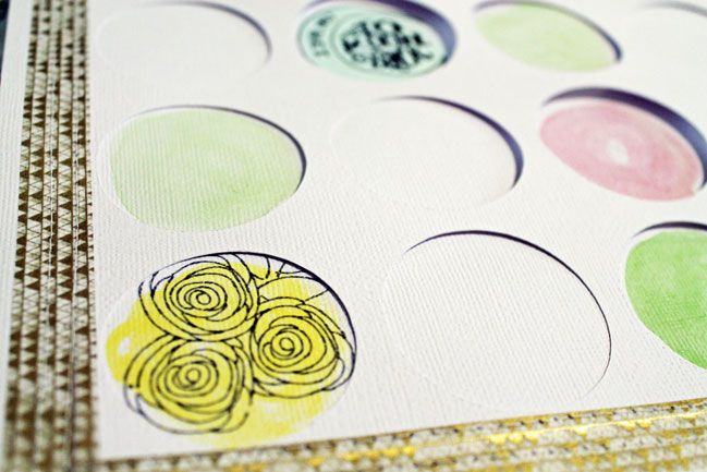 customise your crafting projects - a scrapbooking tutorial by Melissa Mann