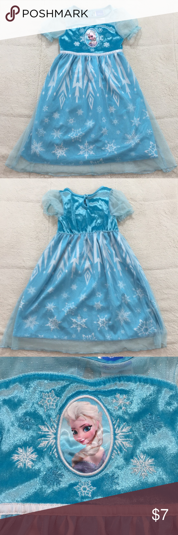 Disney Frozen night gown size 2t | Night gown, Disney frozen and ...