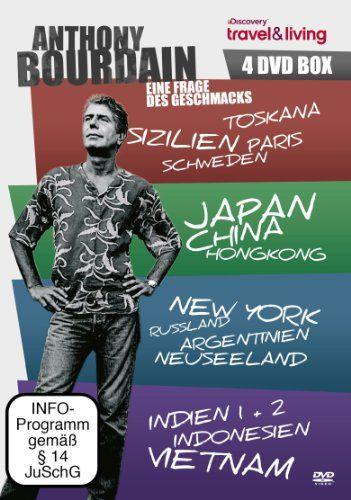Anthony Bourdain - 4er Box [4 DVDs]: Amazon.de: Anthony Bourdain, Ginger Kathrens: Filme & TV
