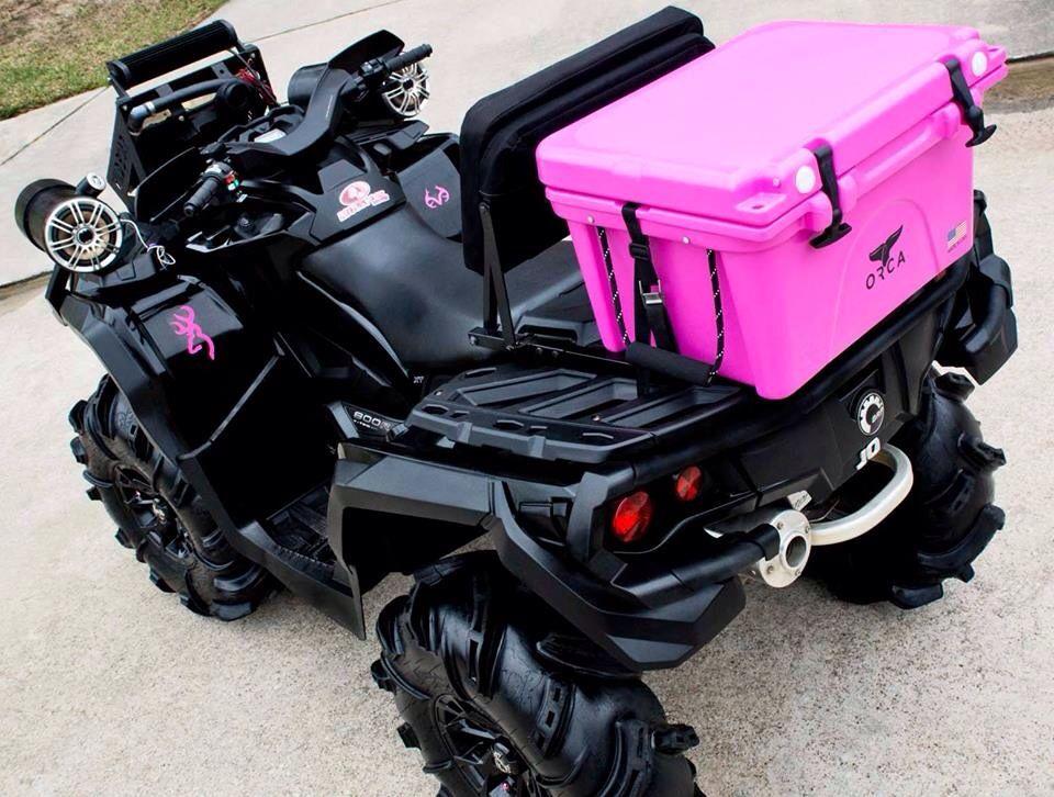 Pink Atv 2013 Canam Outlander 800 Max Xt Four Wheelers