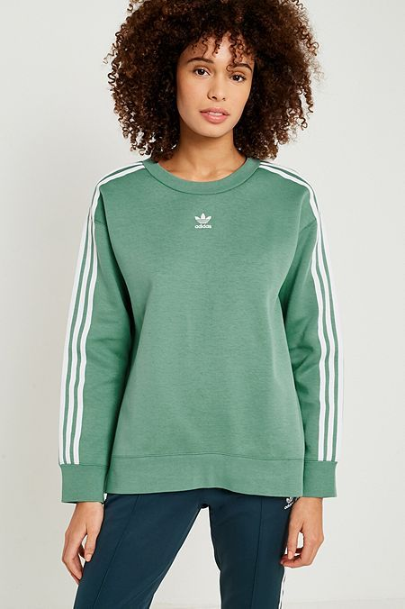 adidas sweat vert femme
