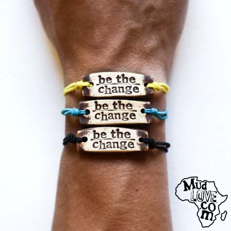 Mudlove A Company Out Of Winona Lake In Makes Beautiful Handmade Bracelets That Also Go For Good Cause I Wear Mine Everyday
