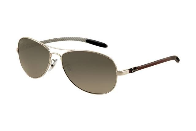 fa0632b381 Ray Ban Tech RB8301 Sunglasses Arista Frame Grey Mirror