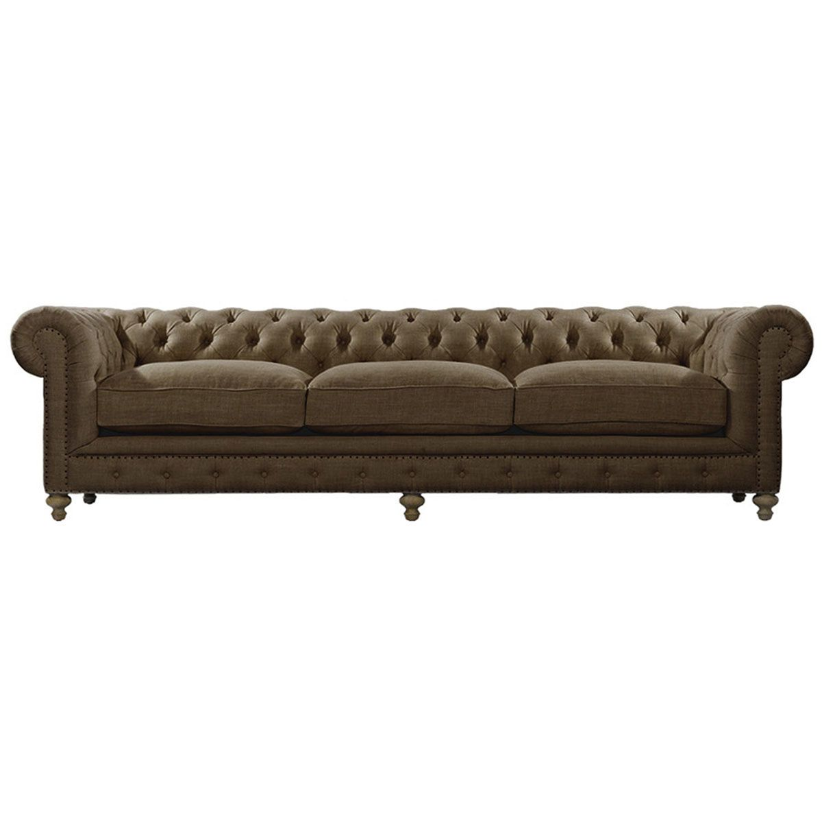 "Obaco Ghana Limited Home: Curations Limited 118"" Cigar Club Sofa 7842.0004.A008"