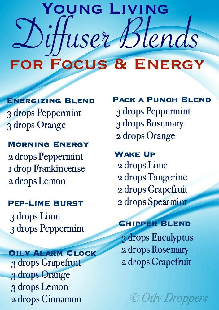 Energizing Diffuser Blends Young Living Oils Essential