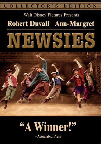NEWSIES New Sealed DVD Collector Edition Disney