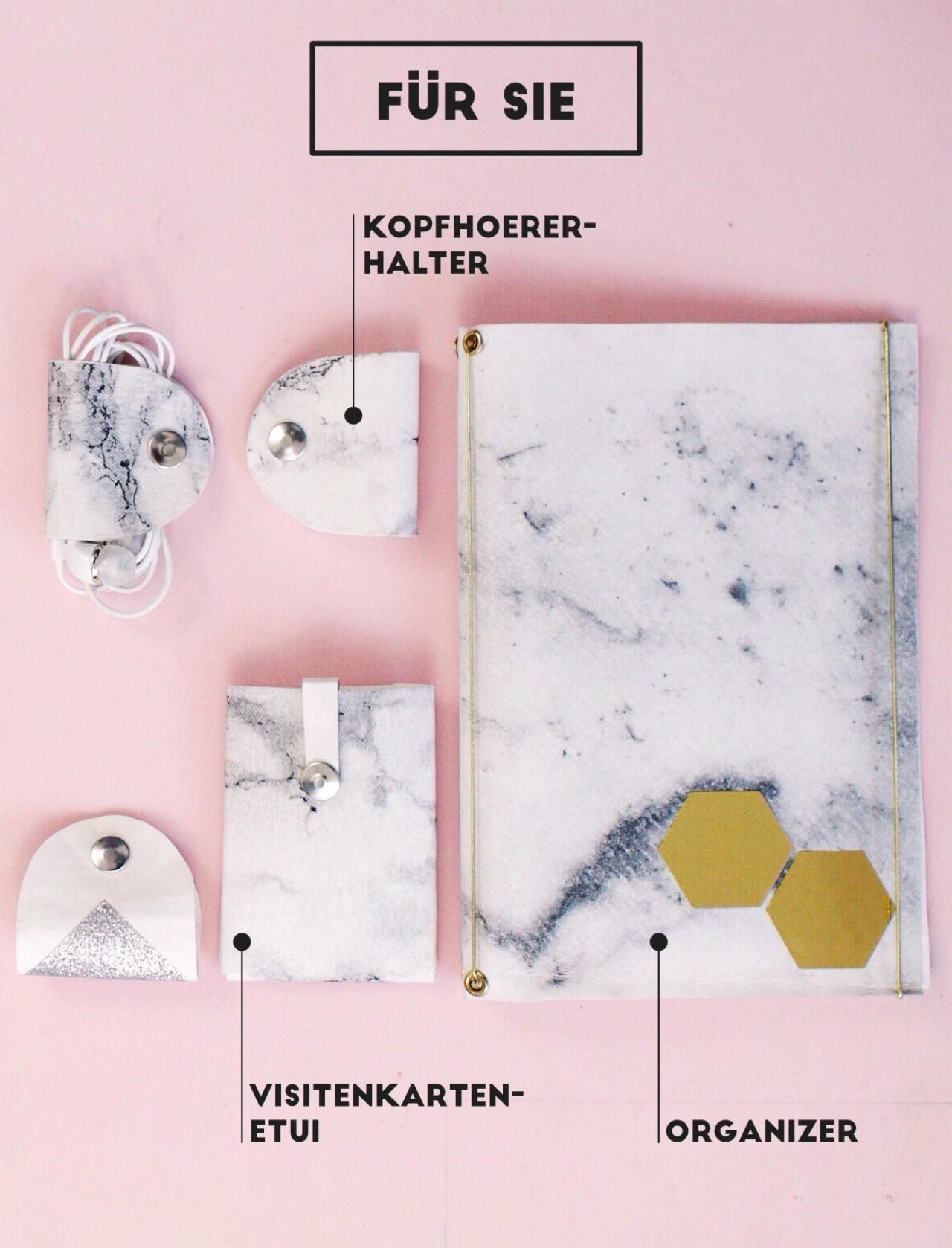 DIY-Geschenke: Organisationstalente für Sie und Ihn | DIY - Crafts ...