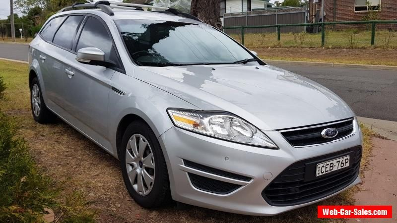 2012 Ford Mondeo Diesel Wagon Automatic No Reserve Ford Mondeo