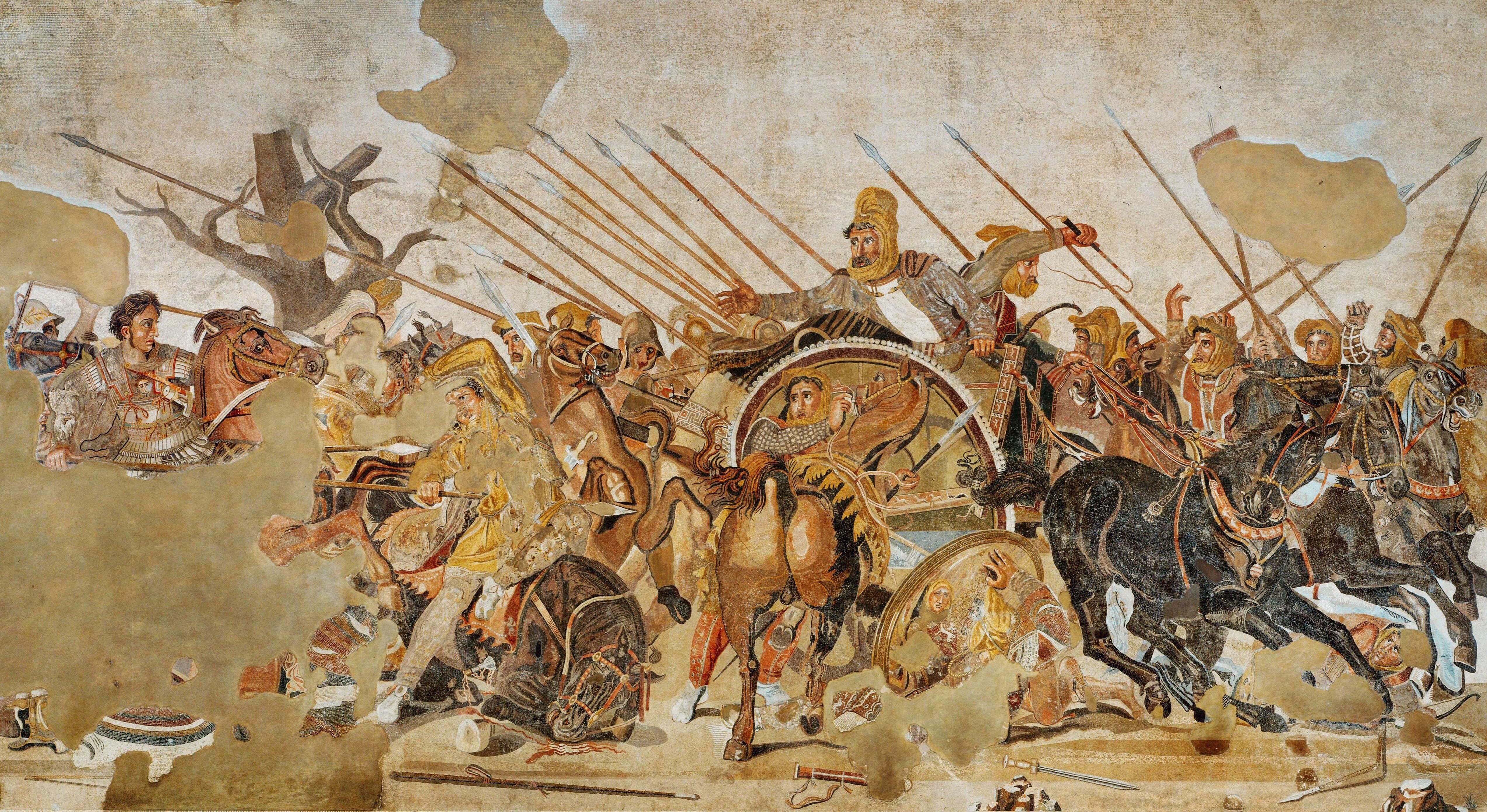 alexander the great and the battle Battle of gaugamela mosul, iraq - the battle of gaugamela, also called the battle of arbela, was the decisive battle of alexander the great's invasion of the persian achaemenid empire.
