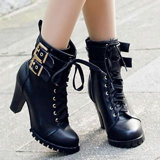 Buy 'Mancienne – Belted Ankle Boots' at YesStyle.com plus more China items and get Free International Shipping on qualifying orders.