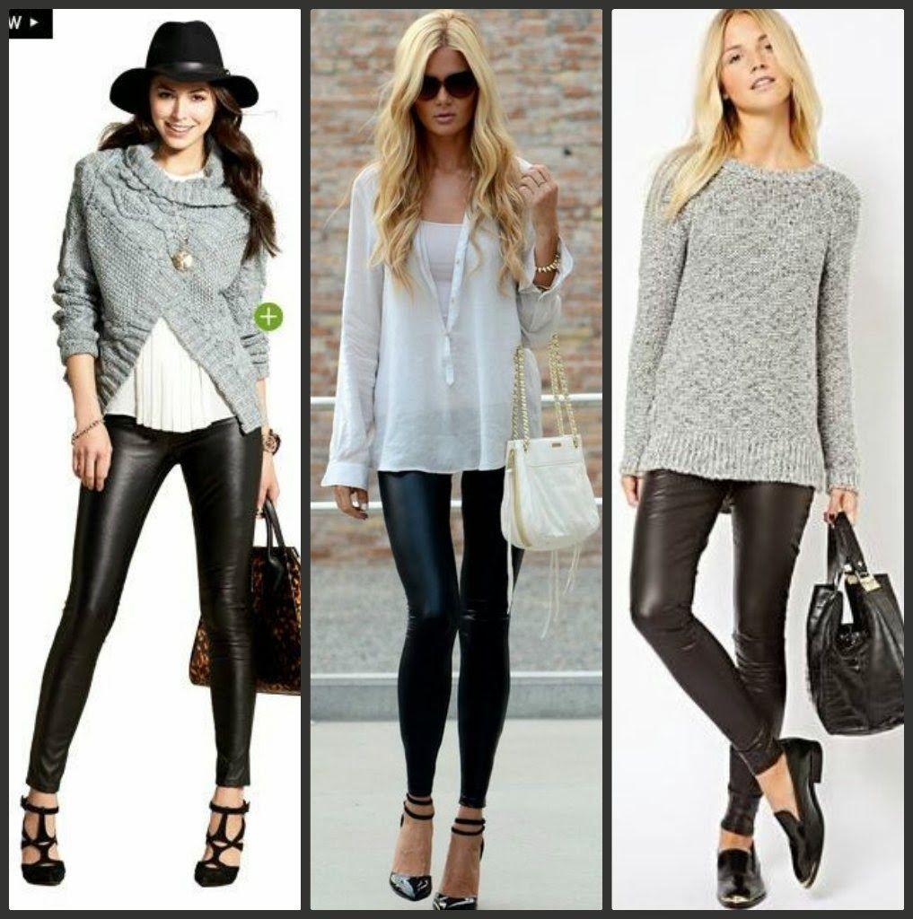 3be58dd3aea4 how to wear pleather leggings - - Yahoo Image Search Results ...