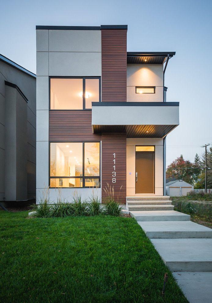 Pin em casas for Casa moderna design