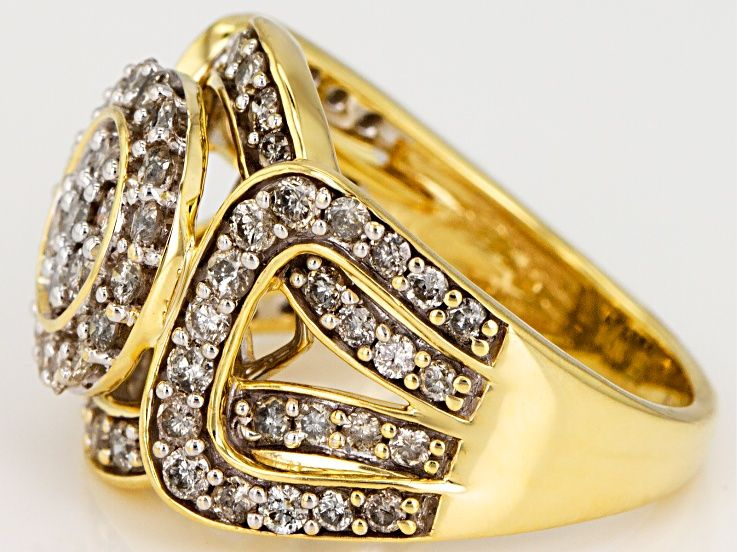 Candlelight Diamonds 10k Yellow Gold Ring 1 50ctw Rgd324 Gold Rings Yellow Gold Rings Yellow Gold