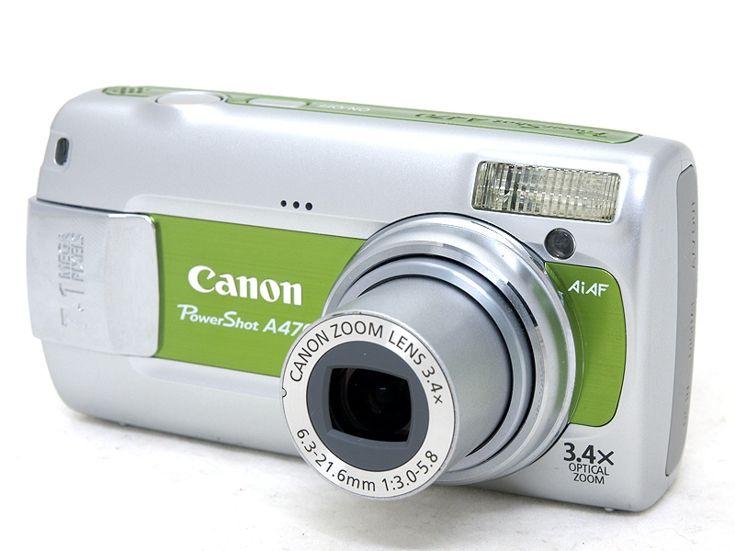 Canon PowerShot A470 Green