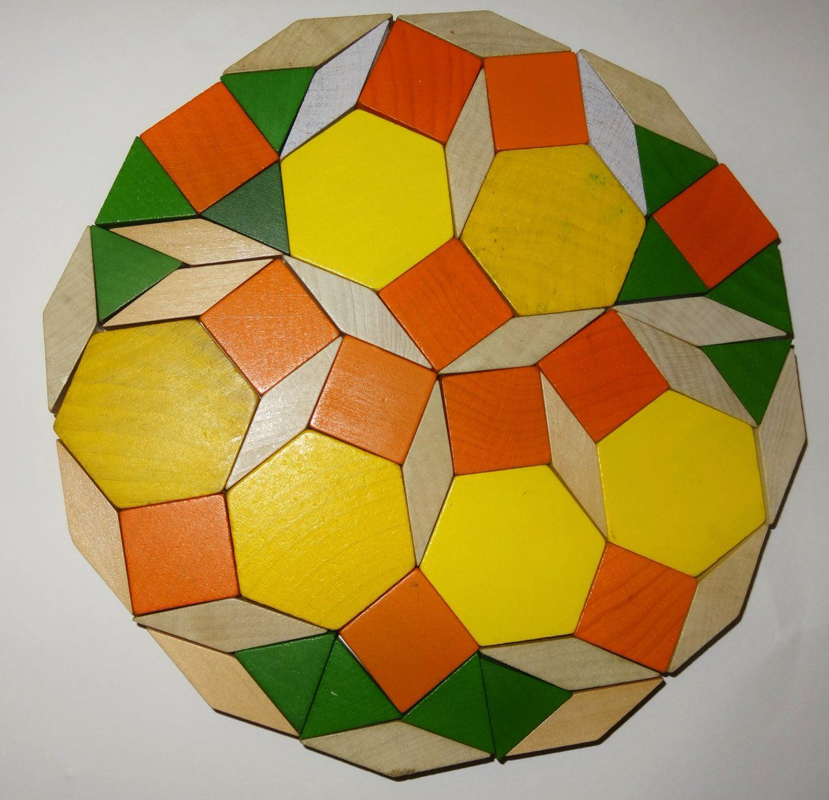 Pattern Block Dodecagons