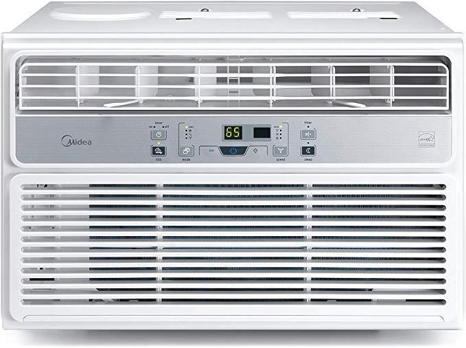 MIDEA MAW08R1BWT Window Air Conditioner 8000