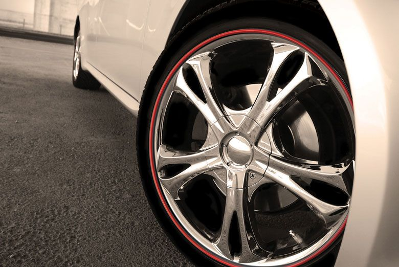 2013 MercedesBenz SLClass Wheel Bands Rim Protectors