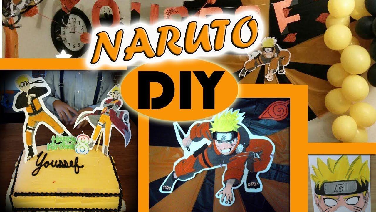 Diy Naruto Birthday Party Theme Costume Decoration On Budget نارطو ديكور حفلة عيد الميلاد Some Amazing Id Costume Themes Sons Birthday Birthday Party Themes