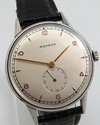 MOVADO  Stainless Steel Vintage Watch #vintagewatches