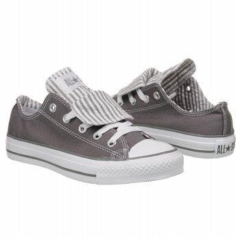 6e0f895bc498 Athletics Converse Women s All Star Lo Double Charcoal FamousFootwear.com