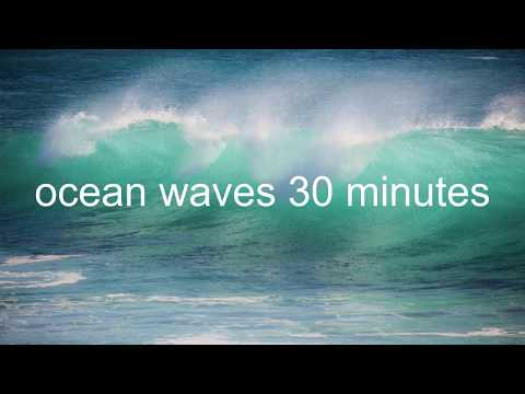 161 30 Minutes Relaxing Ocean Waves Sounds Footage For Deep Sleep Meditation Studying Relaxation Youtube Ocean W Ocean Wave Sounds Ocean Sounds Ocean Waves