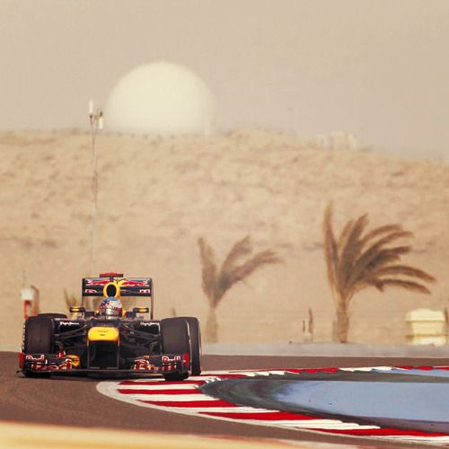Sebastian Vettel Bahrain F1 via Cars | Tumblr