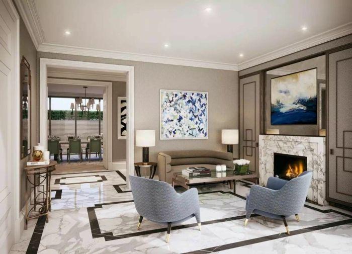 Wohntrends für das Jahr 2018 - ausgefallene Einrichtung  wohnideen  Pinterest  Wohnzimmer ...