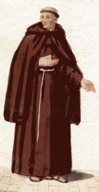 Ordine francescano frati minori san francesco adott l for Planimetrie di 1500 piedi quadrati