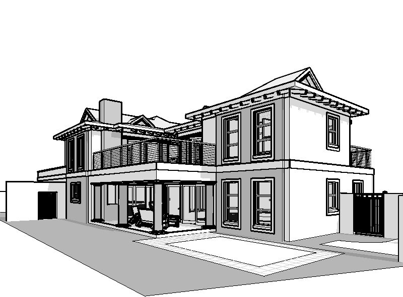 4 Bedroom House Plans South African PDF House Plan