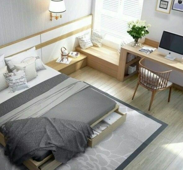 Student Room Idea Modern And Cosy Modern Bedroom Furniture Condo Interior Design Minimalist Bedroom Design