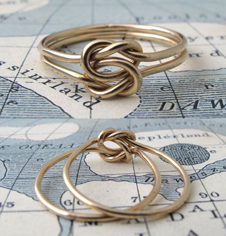 Lover's Knot Ring, $75.